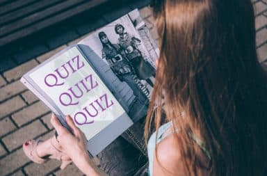 the magazine quizzes have arrived
