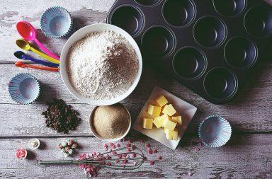 making a baking