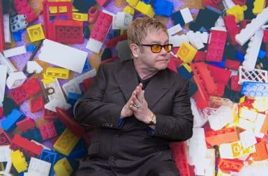 Elton John lego town