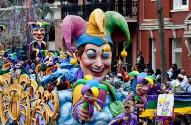 ah yes mardi gras the big party it's here again