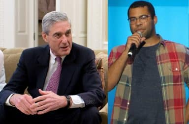 Robert Mueller and Jordan Peele