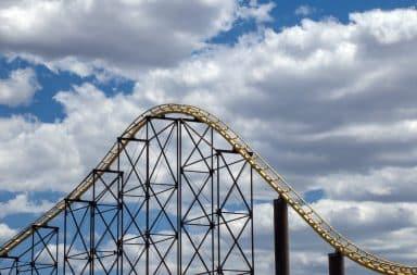 roller coaster!!!! woooooo