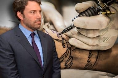 ben affleck's tattoo is so incredible