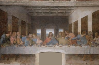 the guys are all here at the last supper