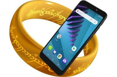 The One Ring and a typical smartphone