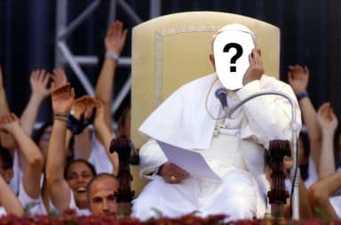 who will be da pope who knows only gawd