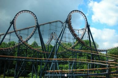 roller coaster! wooooo