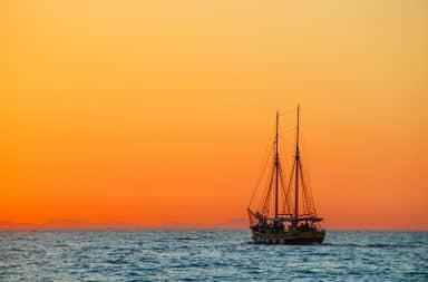the ship afloat a yo ho ho and a bottle of...Fanta?!