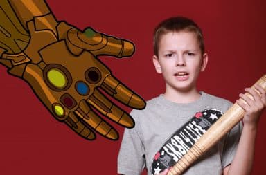 thanos is coming for the teens
