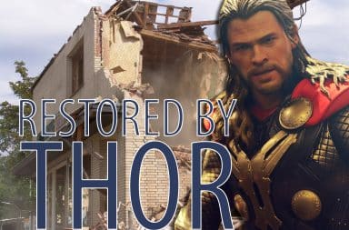 restored by thor! it's the show!