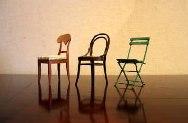 it's the chairs!