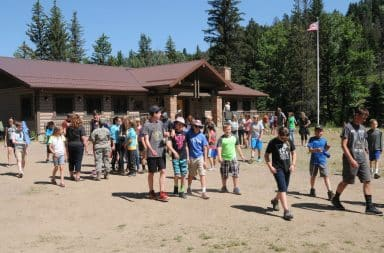 summer camp let's have fun