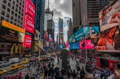 times square wow!