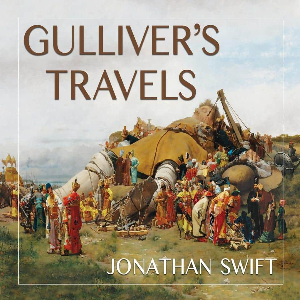 Gullivers Travels book cover
