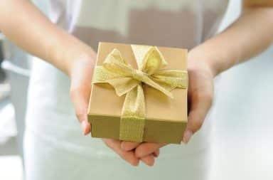 it's a gift box!