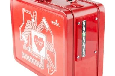 Red lunchbox for kids