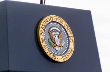 presidential potus podium