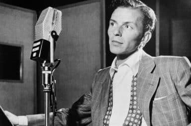 Frank Sinatra radio recording