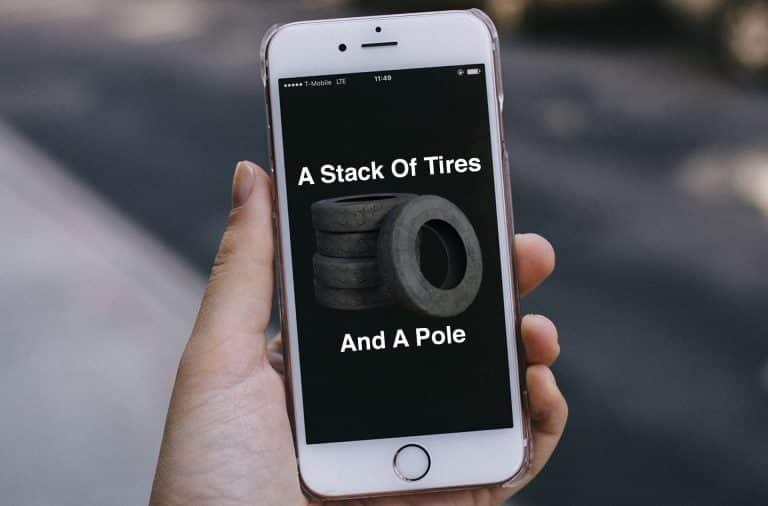 tire app for a car that you make