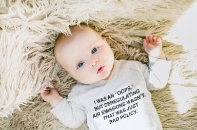 baby onesie with a phrase