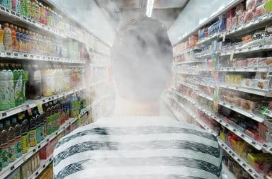 grocery store stoned with smoke