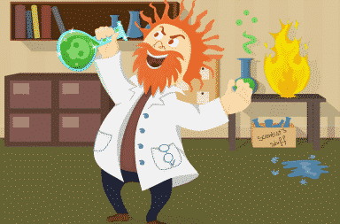 mad science reigns in this crazy place!