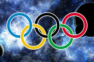 it's the space olympics