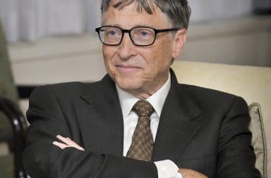 bill gates, the guy with a lot of money from computers, also known as Bilge Ates