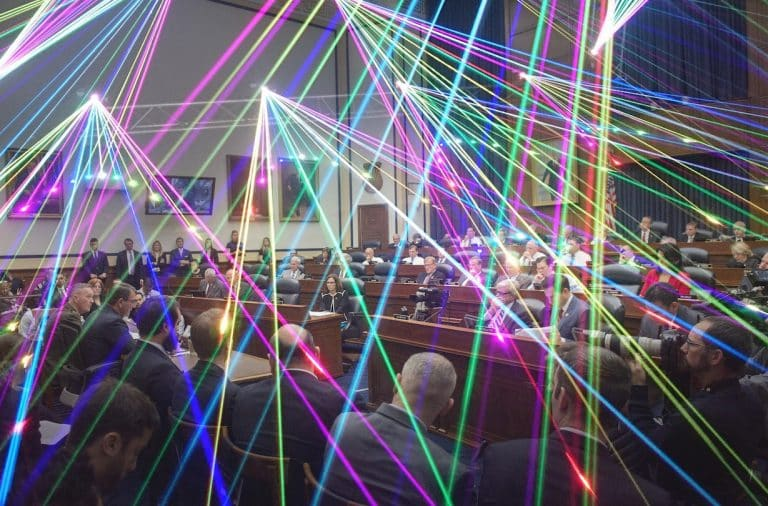 impeachment could be a blast with these lasers