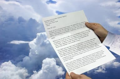 rejection letter to god, tough to see