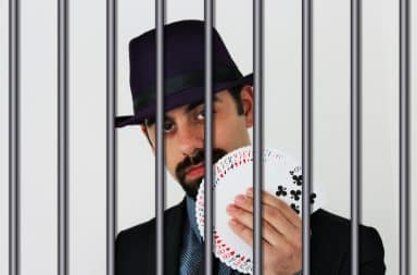 the magician was tossed in jail