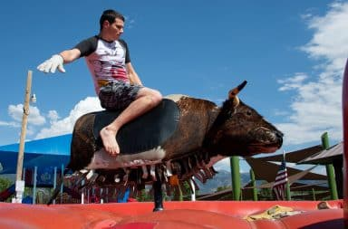 mechanical bull don't get messed up