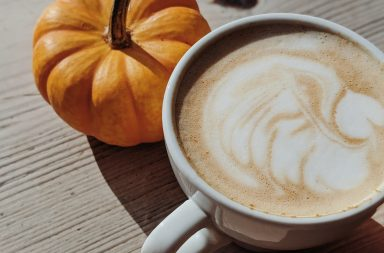Pumpkin spice latte for Fall
