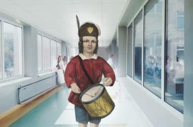 drummer boy in the hospital!!