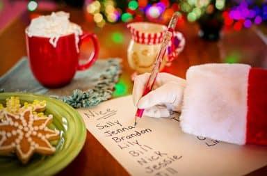 santa's list....the infamous list