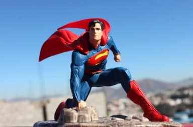 it's a bird it's a plane it's a free stock photo of superman