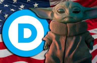 baby yoda DNC elect