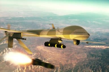 drone fire a missile sound good