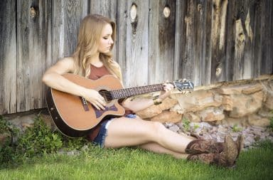 country gal guitar
