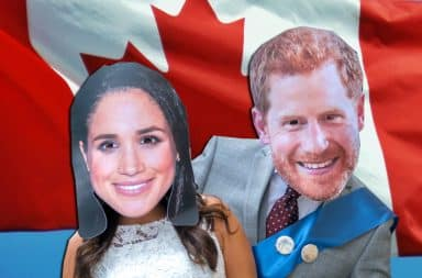welcome to canada, the royal couple