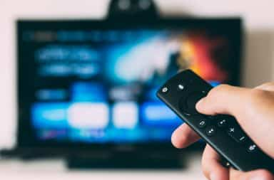 Remote control for TV streaming services