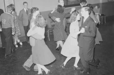 dance like it's the 1950s