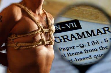 a grammar bondage guy whoa that's horny as hell!