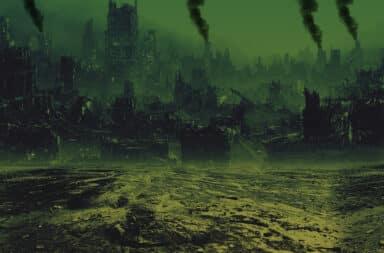 Post-apocalyptic city decimated