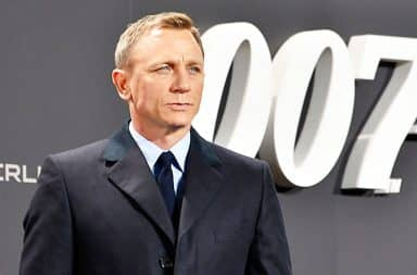 Daniel Craig as James Bond 007 in a suit