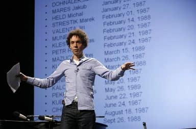 List of books by Malcom Gladwell on stage