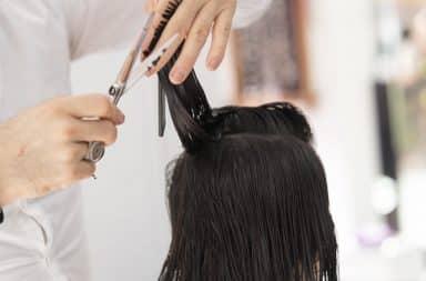 hair salon hair cut