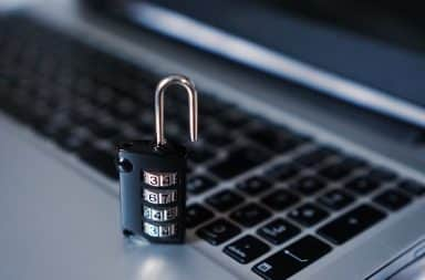 cyber crime stops here, with this lock