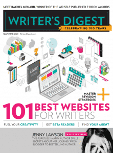 Writer's Digest Best Websites for Writers - May/June 2020 cover