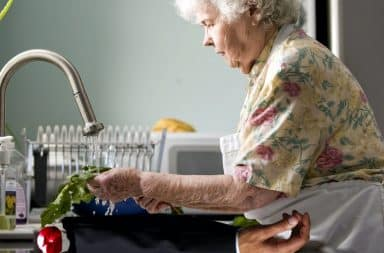 grandma cooking the rich